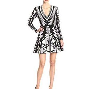 Parker Napa Knit Long Sleeve Dress Sz XS